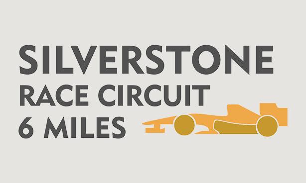 Silverstone Circuit - 6 Miles